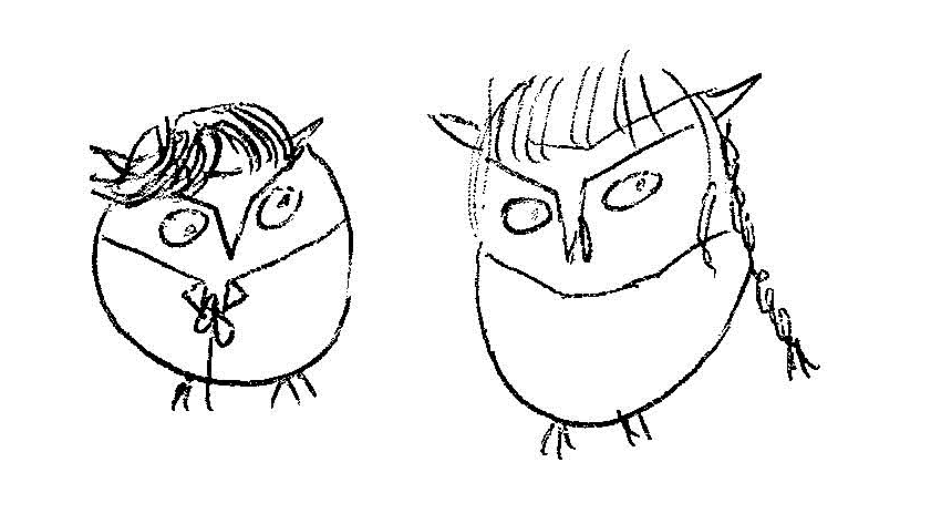 Owl Tim and Lex