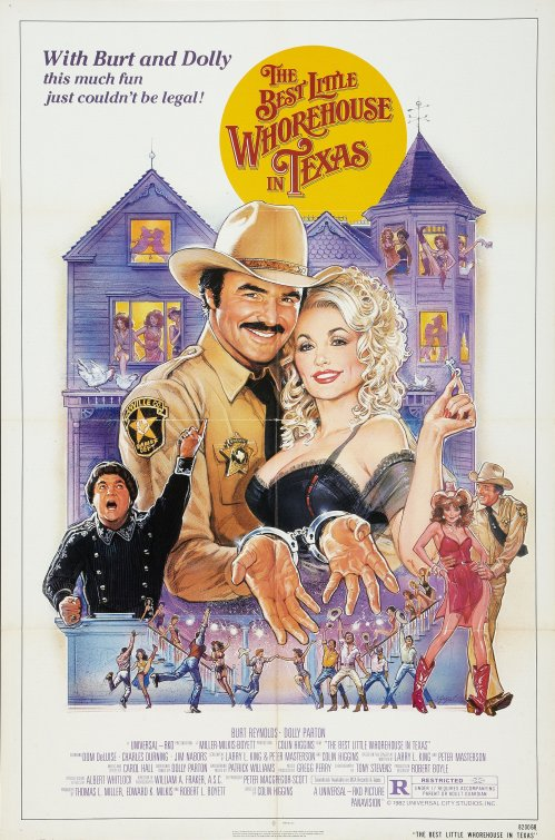 Texas Whorehouse Poster