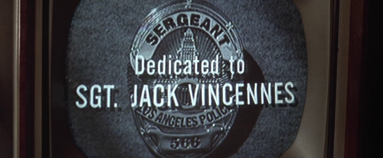 Badge of Honor - Dedicated to Jack Vincennes